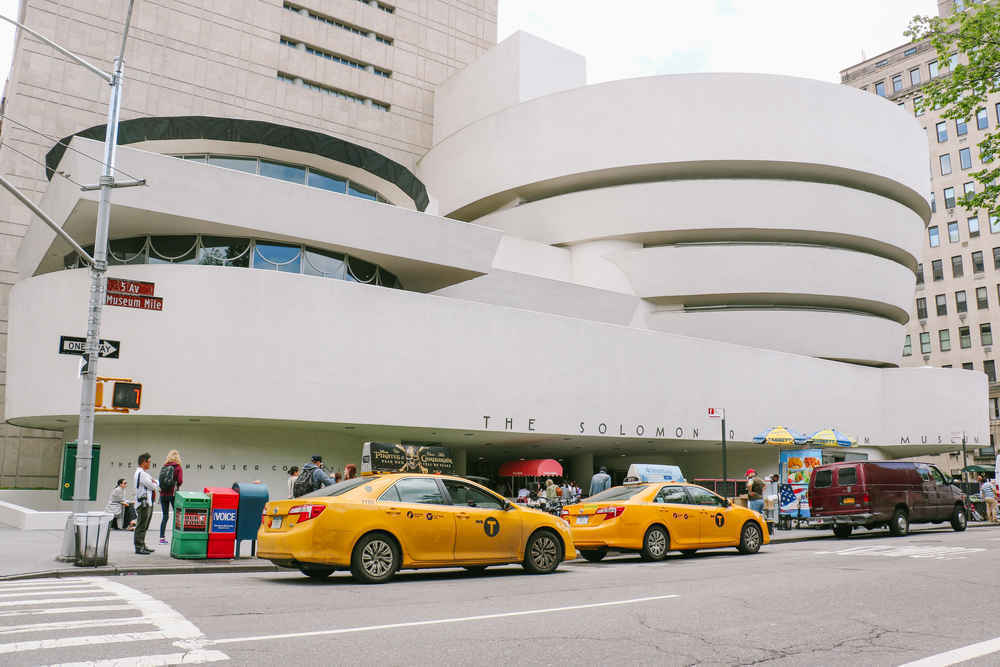 Guggenheim Museum on the Upper East Side of Manhattan, New York