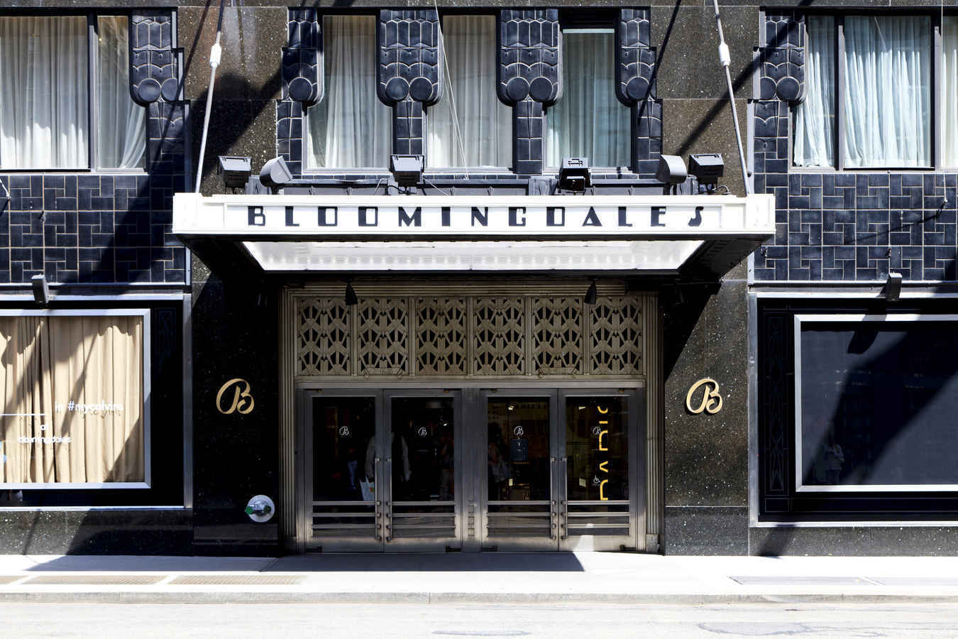 Bloomingdales department store Upper East Side Manhattan