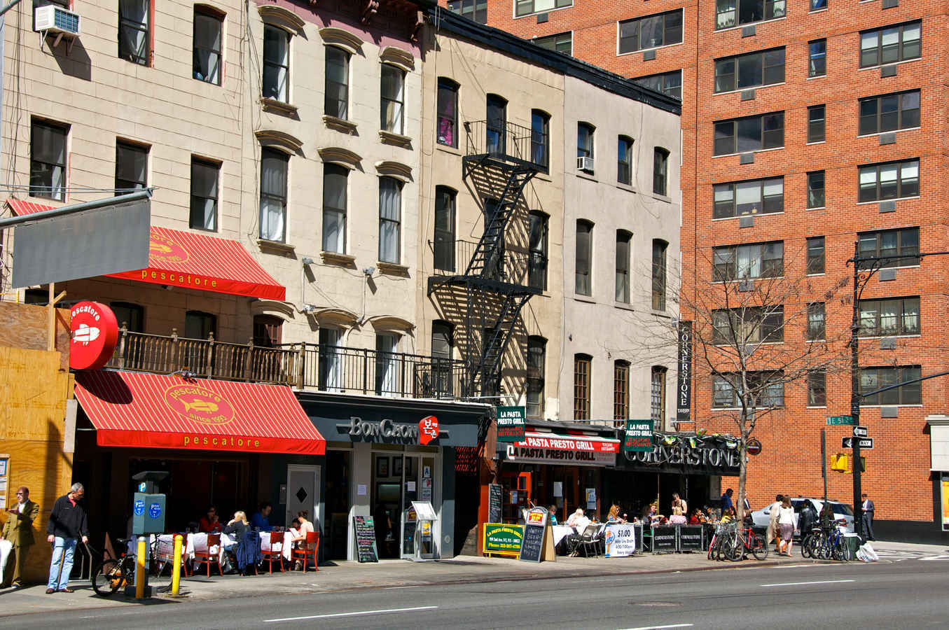 Restaurants and cafes on the Upper East Side of Manhattan
