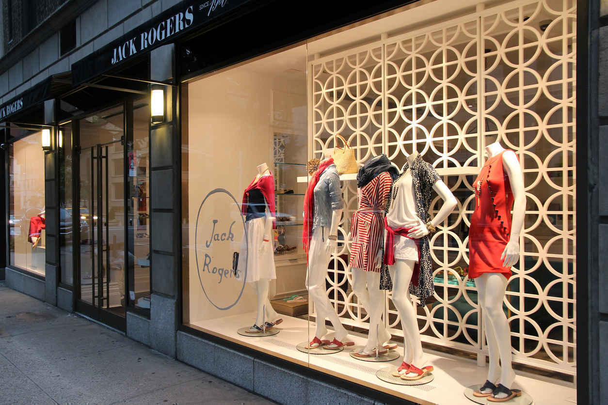 Boutique on Madison Avenue, Upper East Side New York