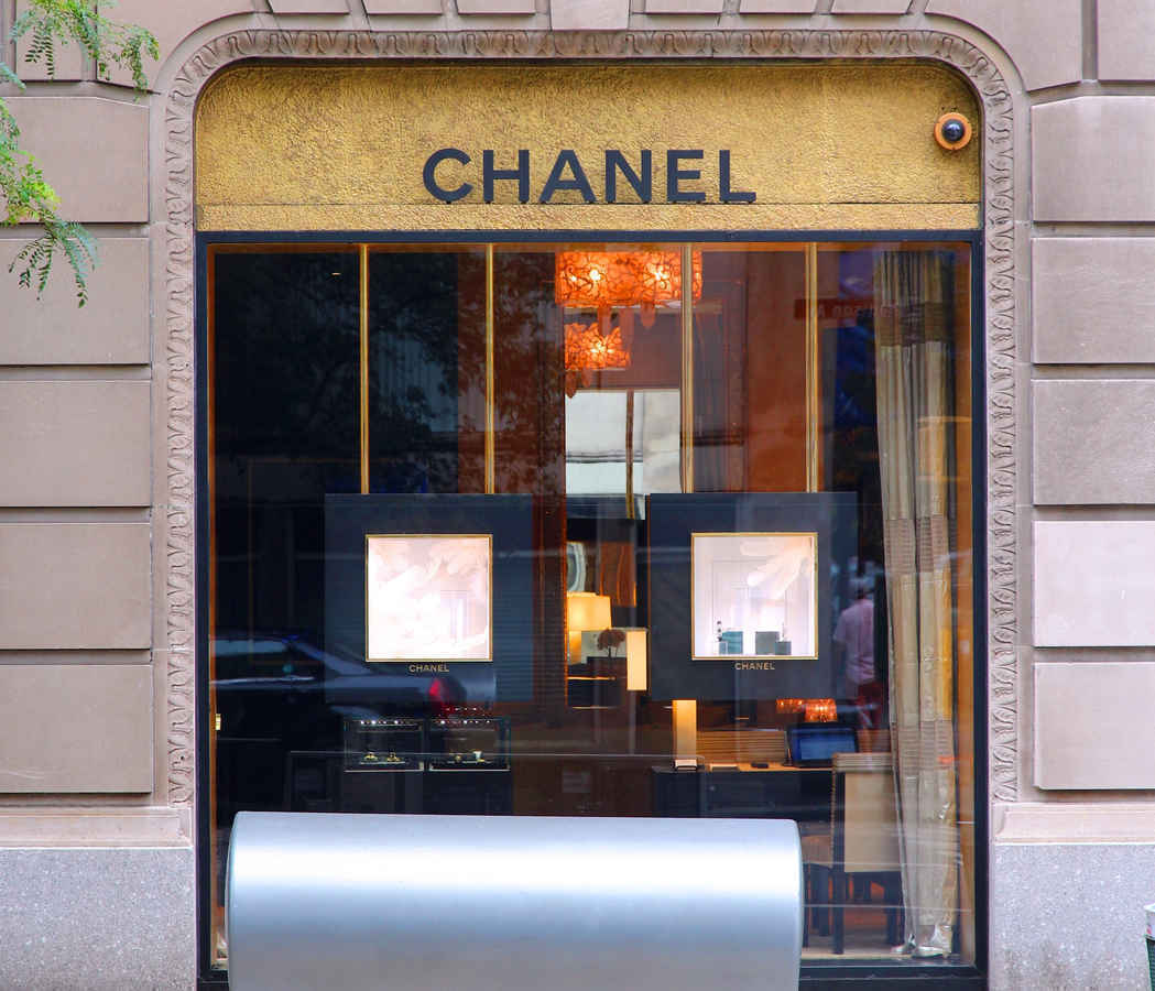Chanel boutique on Madison Ave, Upper East Side Manhattan