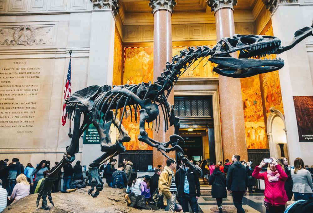 American Museum of Natural History on the Upper West Side of Manhattan, New York