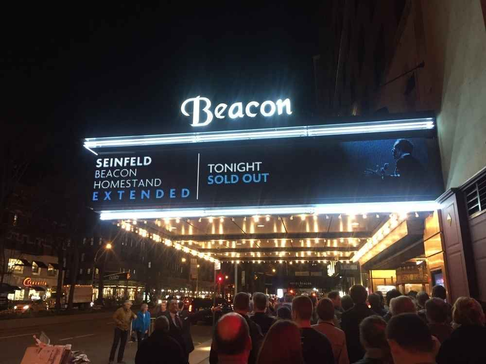 Beacon Theatre on Broadway in Upper West Side Manhattan, New York