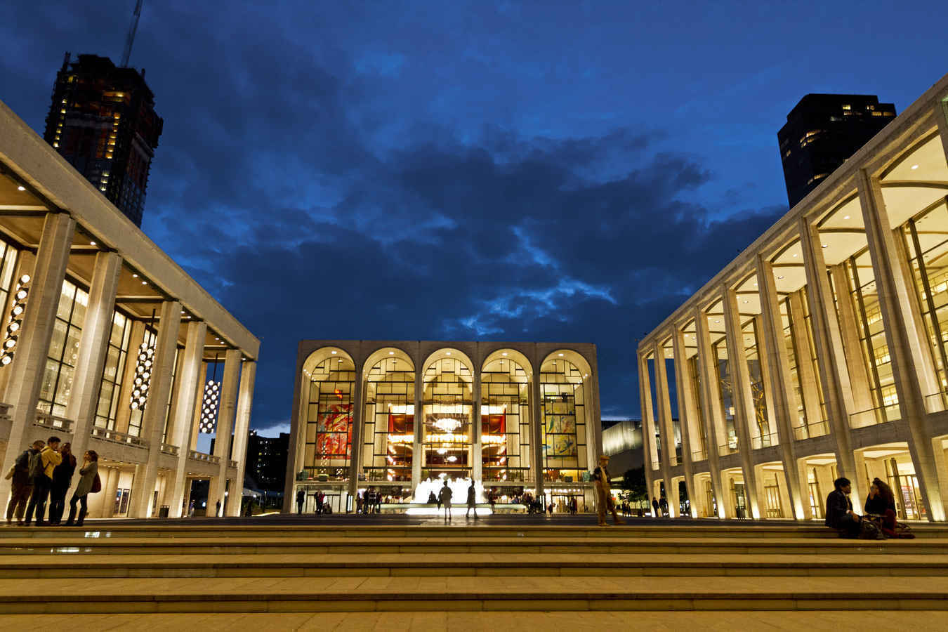 Metropolitan Opera House at Lincoln Center Upper West Side New York