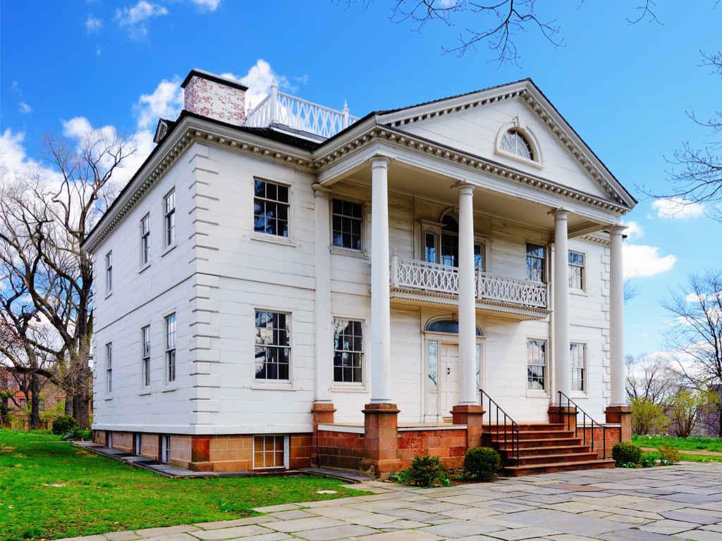 Morris-Jumel Mansion in Washington Heights New York