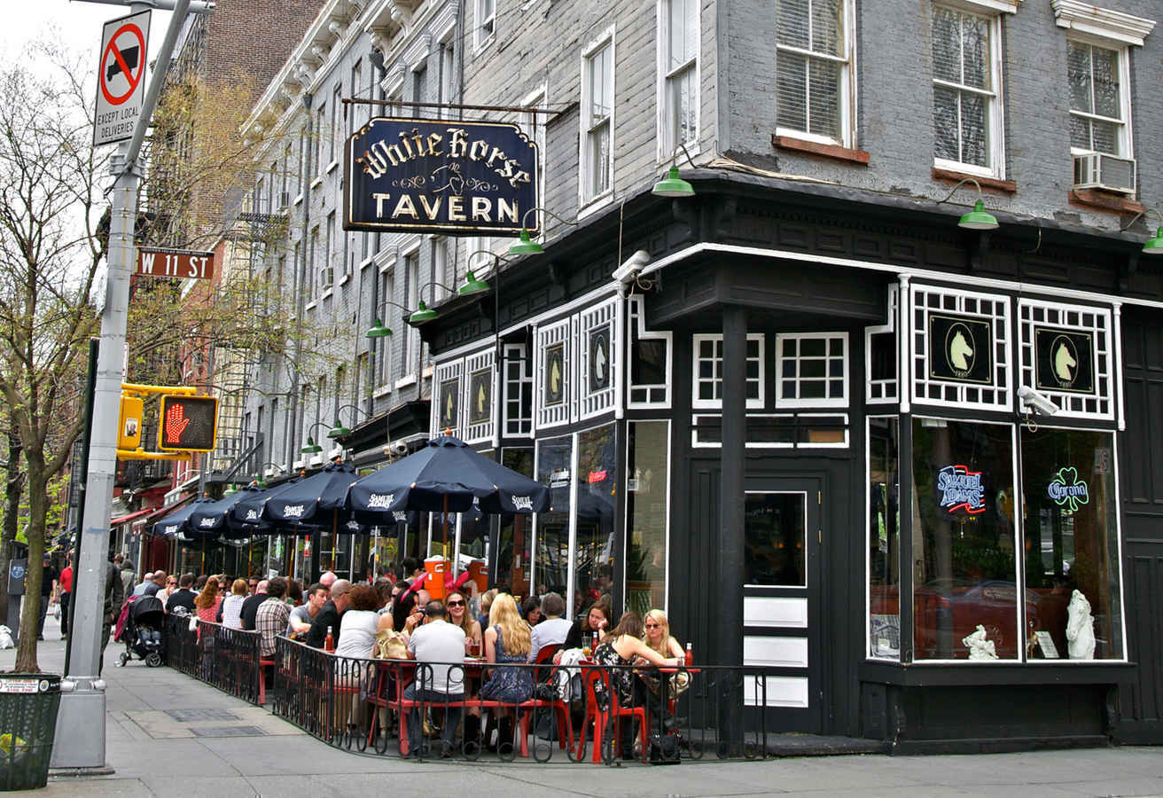 White Horse Tavern bar in the West Village New York