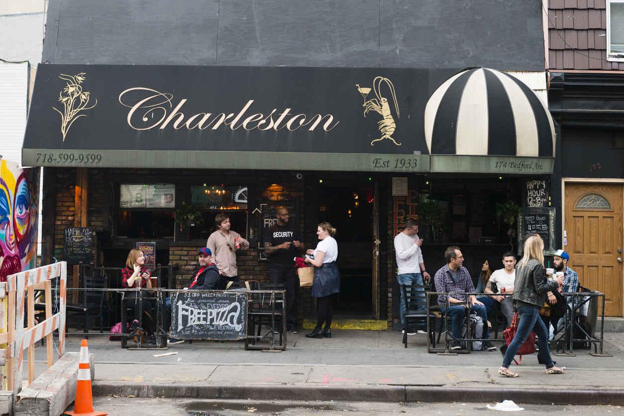 The Charleston bar and lounge in Williamsburg, Brooklyn