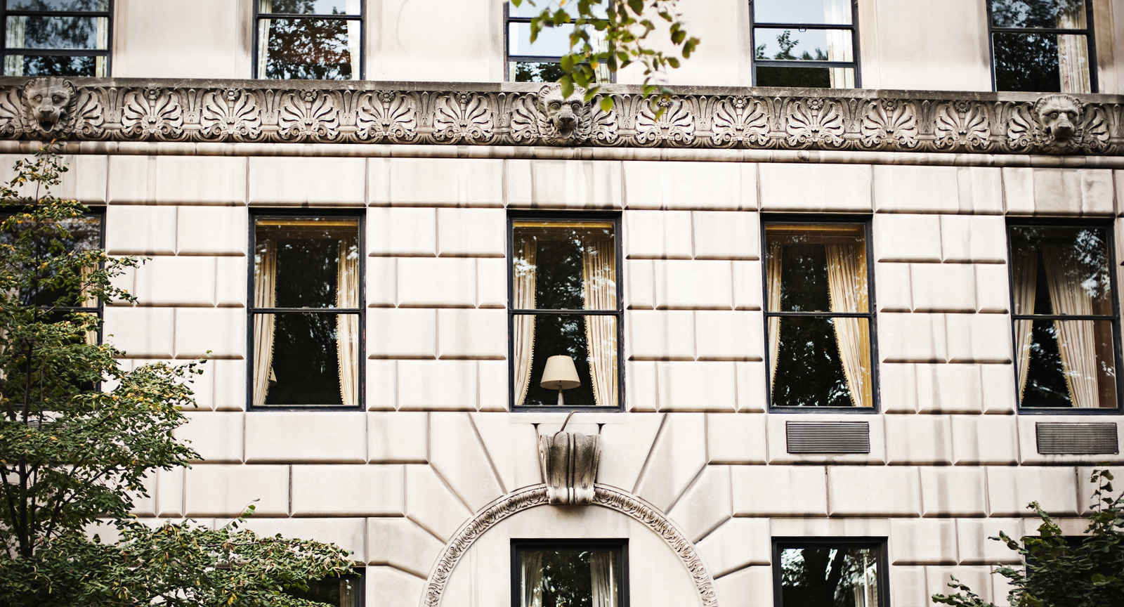 Architecture on the Upper East Side of Manhattan, New York