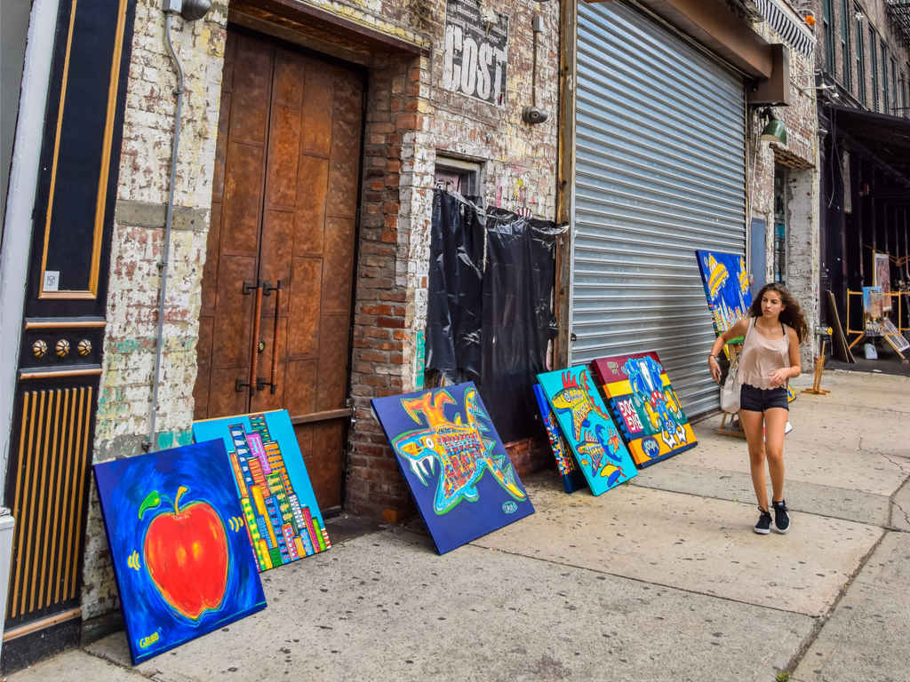 Pop art paintings for sale in Chelsea, New York