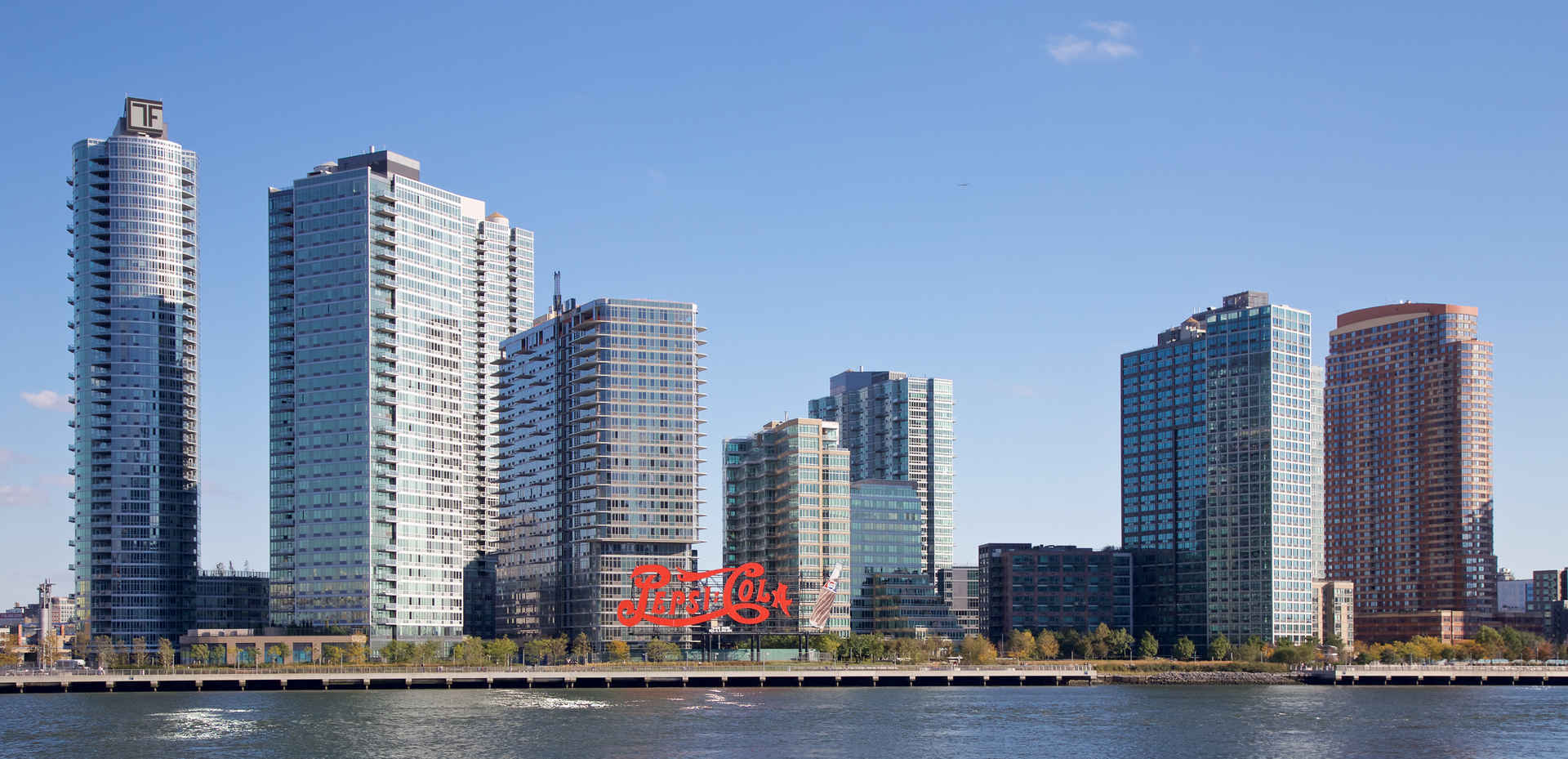 Skyline of Long Island City Queens, New York