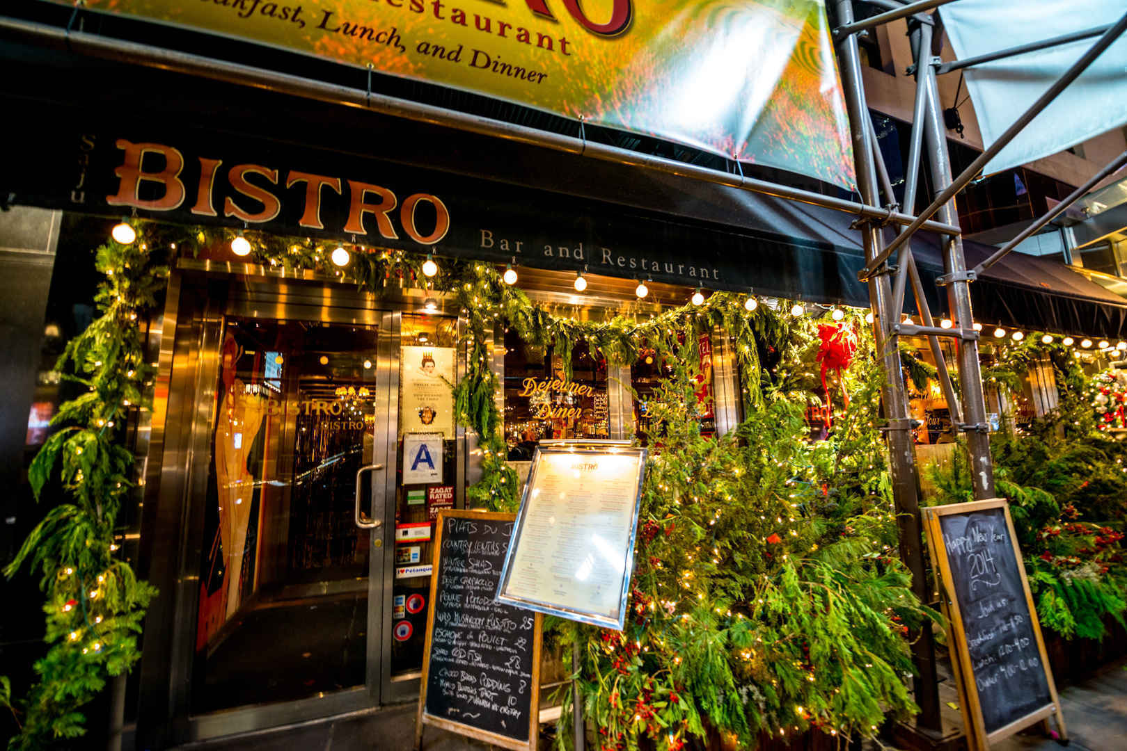 Saju Bistro in the Theater District, Manhattan, New York