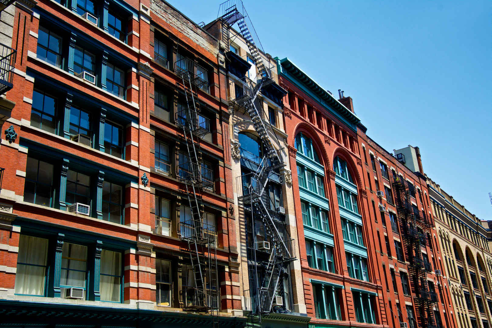 Architecture and cityscape, Tribeca, New York