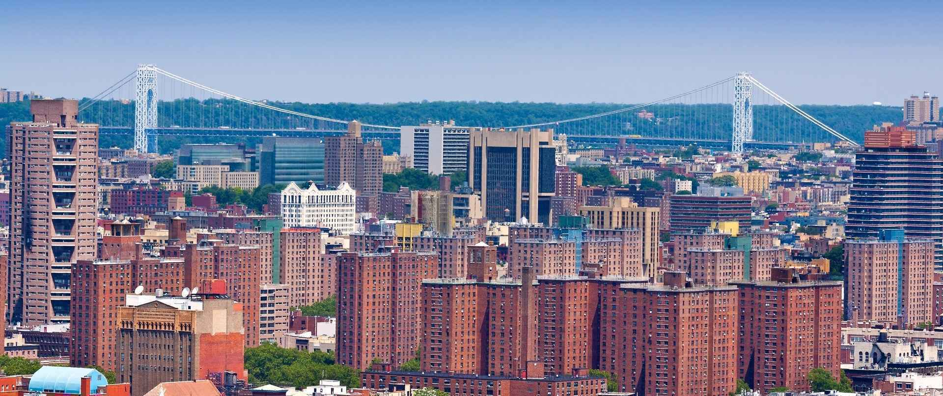 Washington Heights NYC panorama