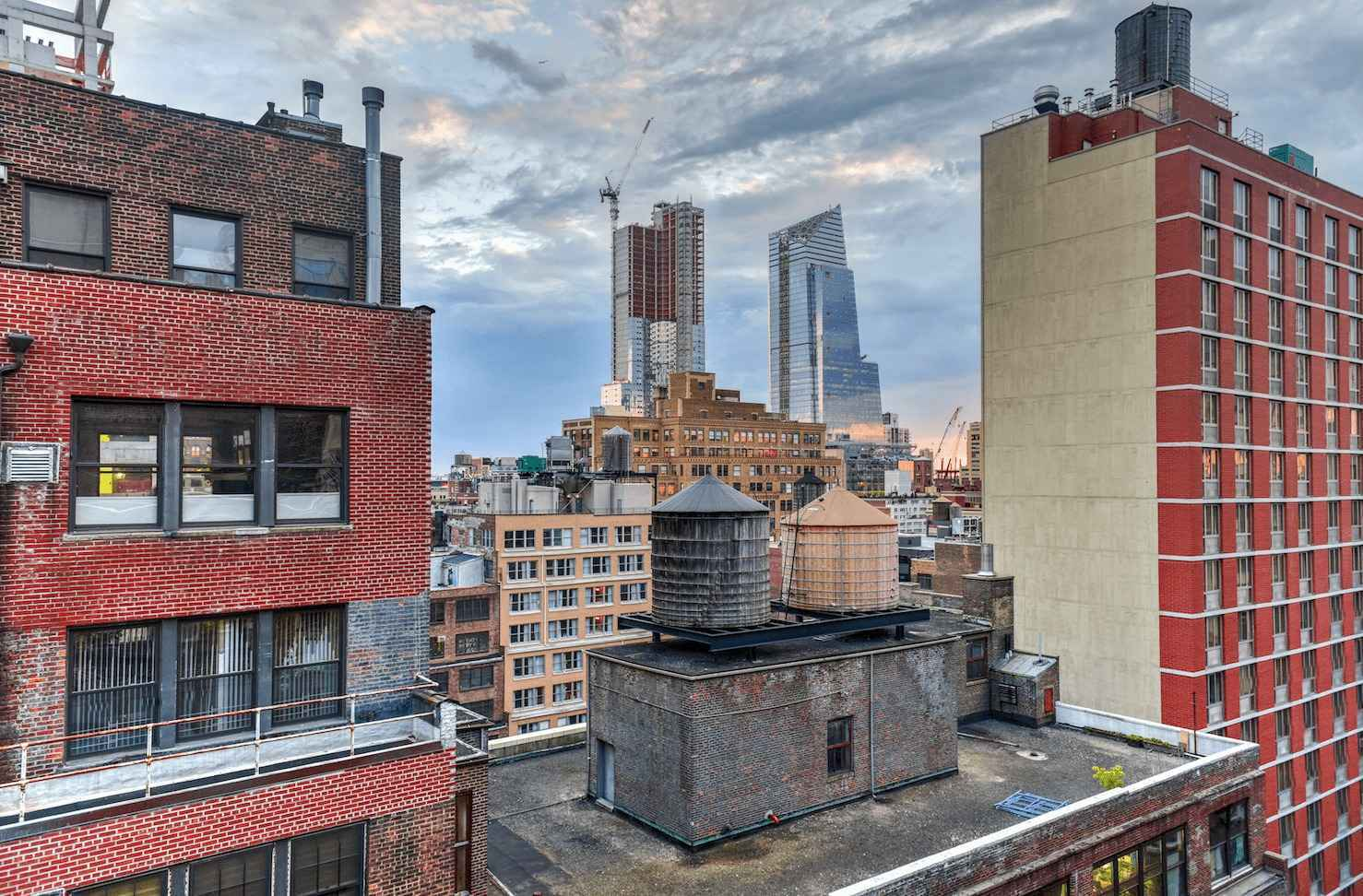 Residential Skyline in Hell's Kitchen New York