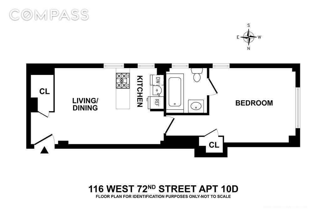 Apartment for sale at 116 West 72nd Street, Apt 10-D
