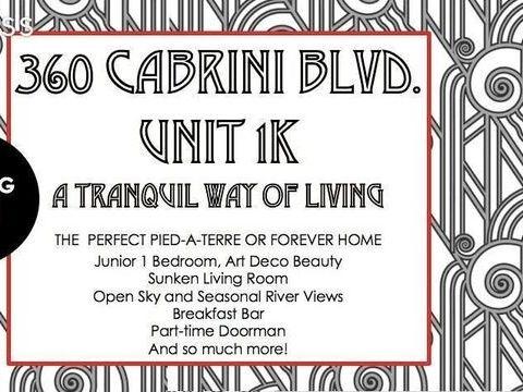 360 Cabrini Boulevard, Apt 1-K, undefined, New York