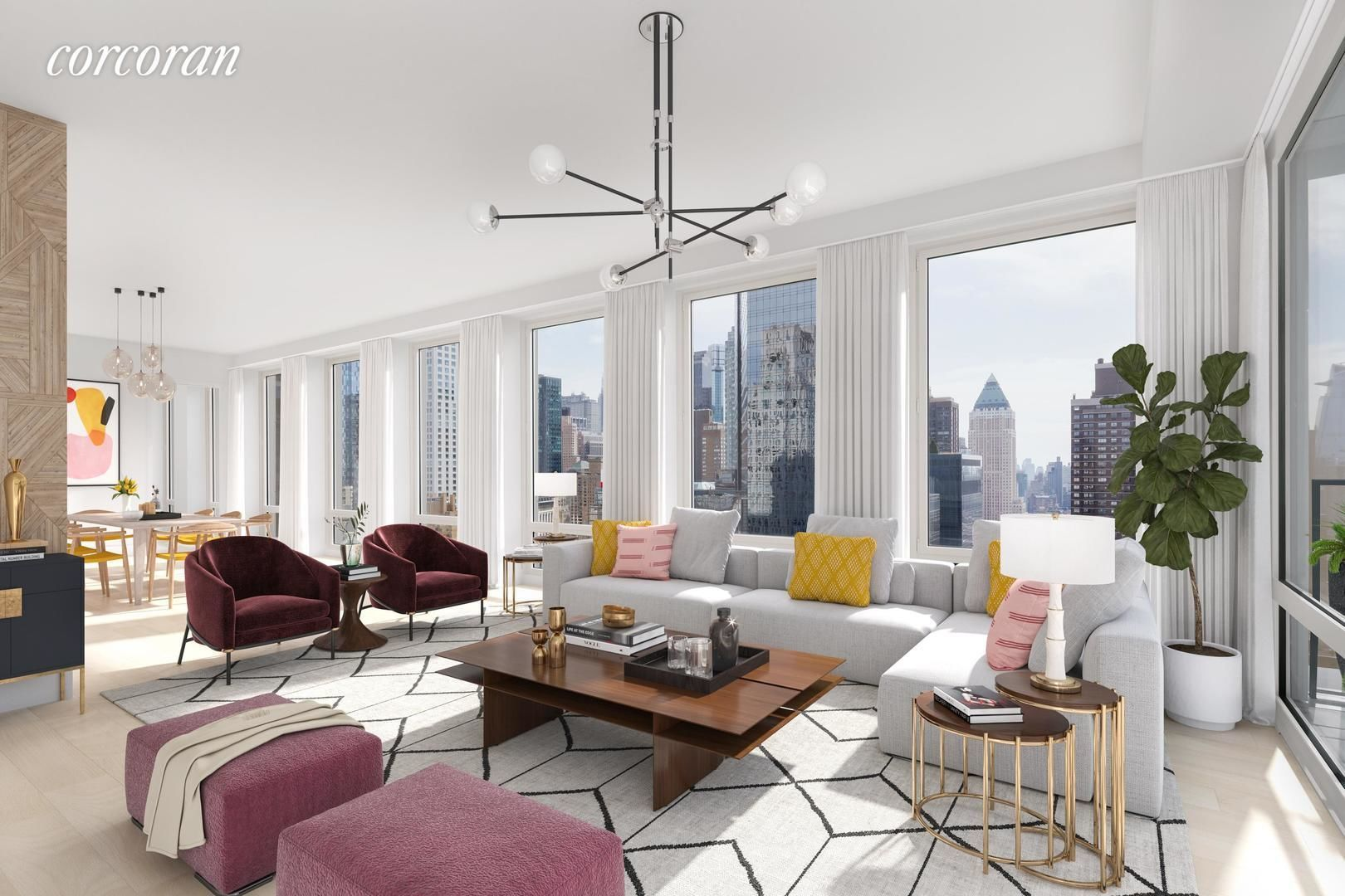 Apartment for sale at 15 West 61st Street, Apt PH31C