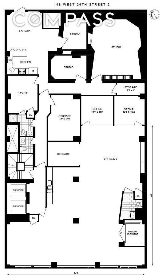Apartment for sale at 148 West 24th Street, Apt 2-FLR