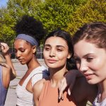Prose models with different hair textures in the sun ready to workout