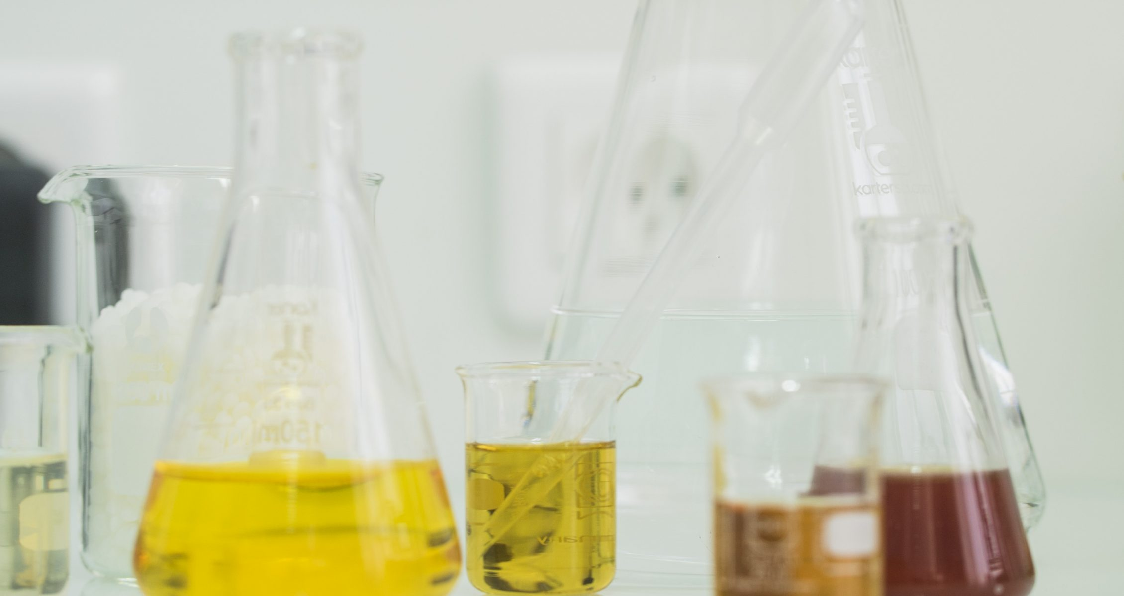 Prose lab featuring beakers