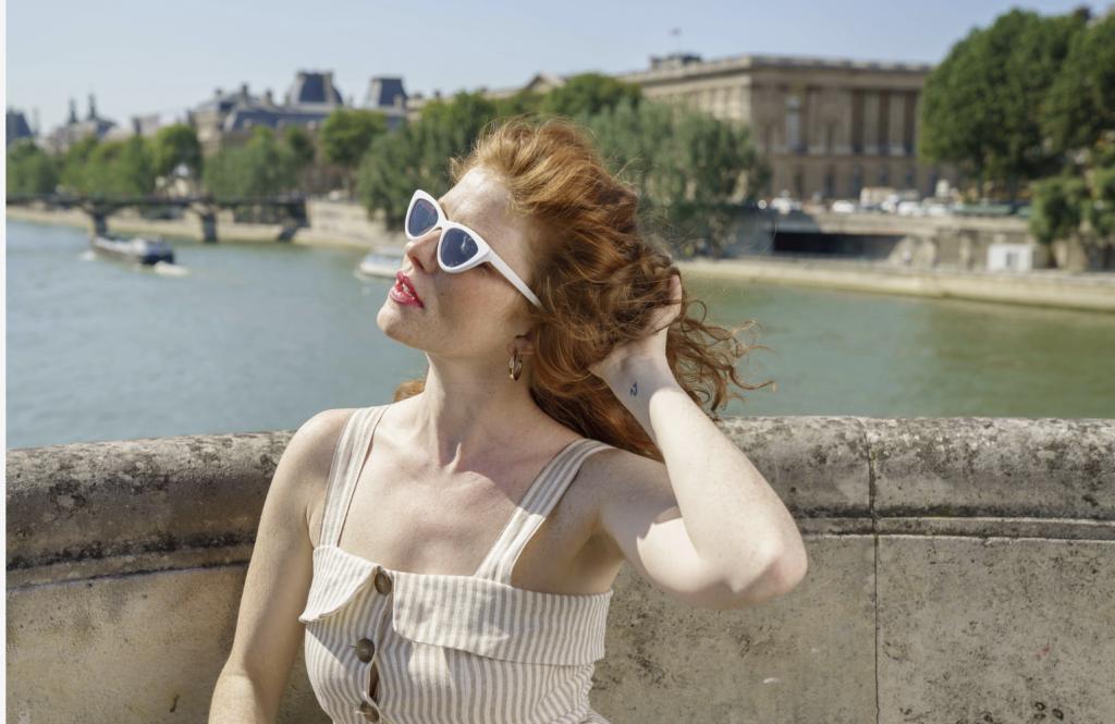 summer hair red Prose Paris shoot
