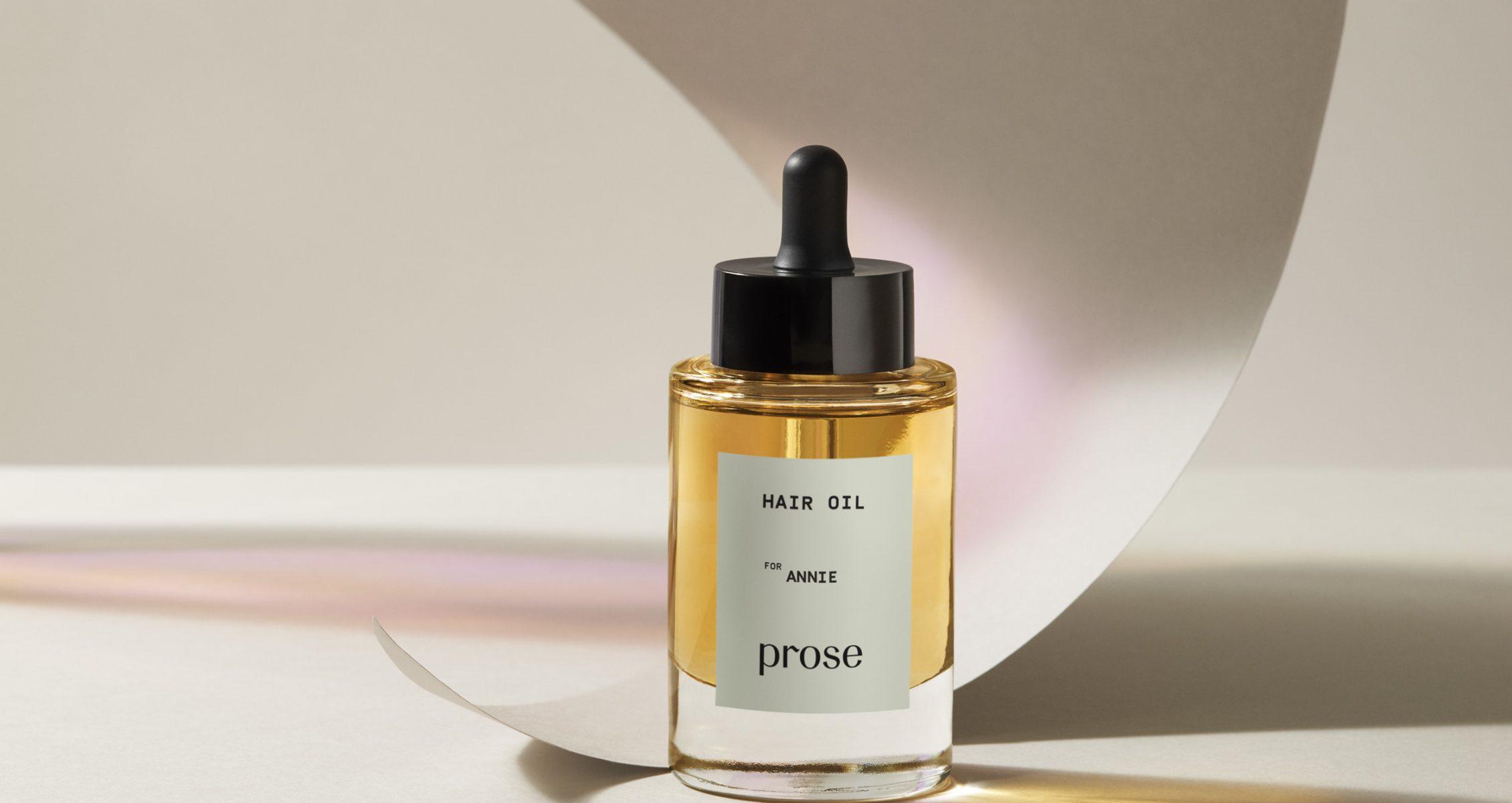 custom hair oil Prose