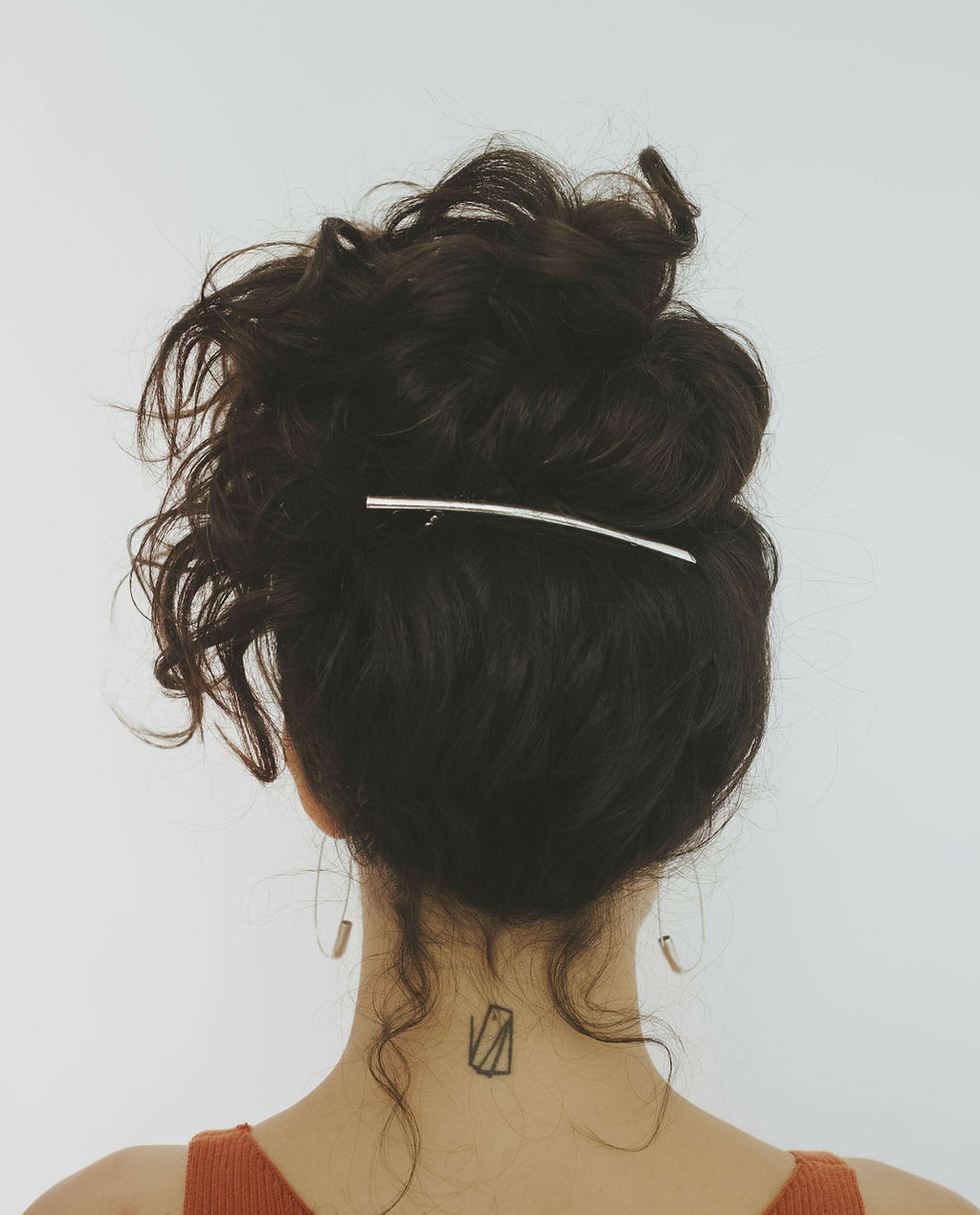 low-maintenance hair Prose model