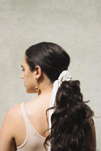 hair scarf Prose hair care model