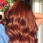red hair trending celeb