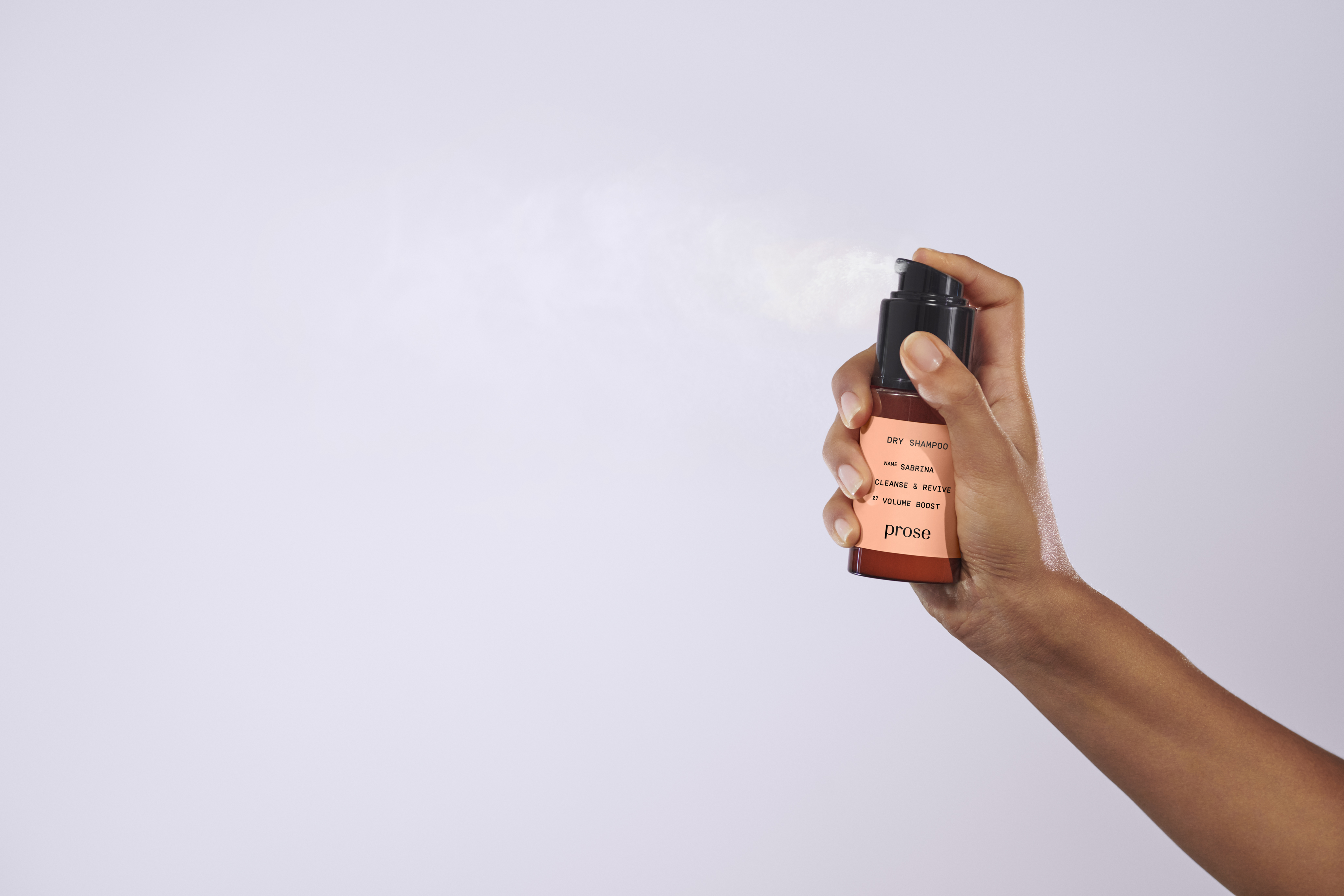 powder dry shampoo Prose hair care