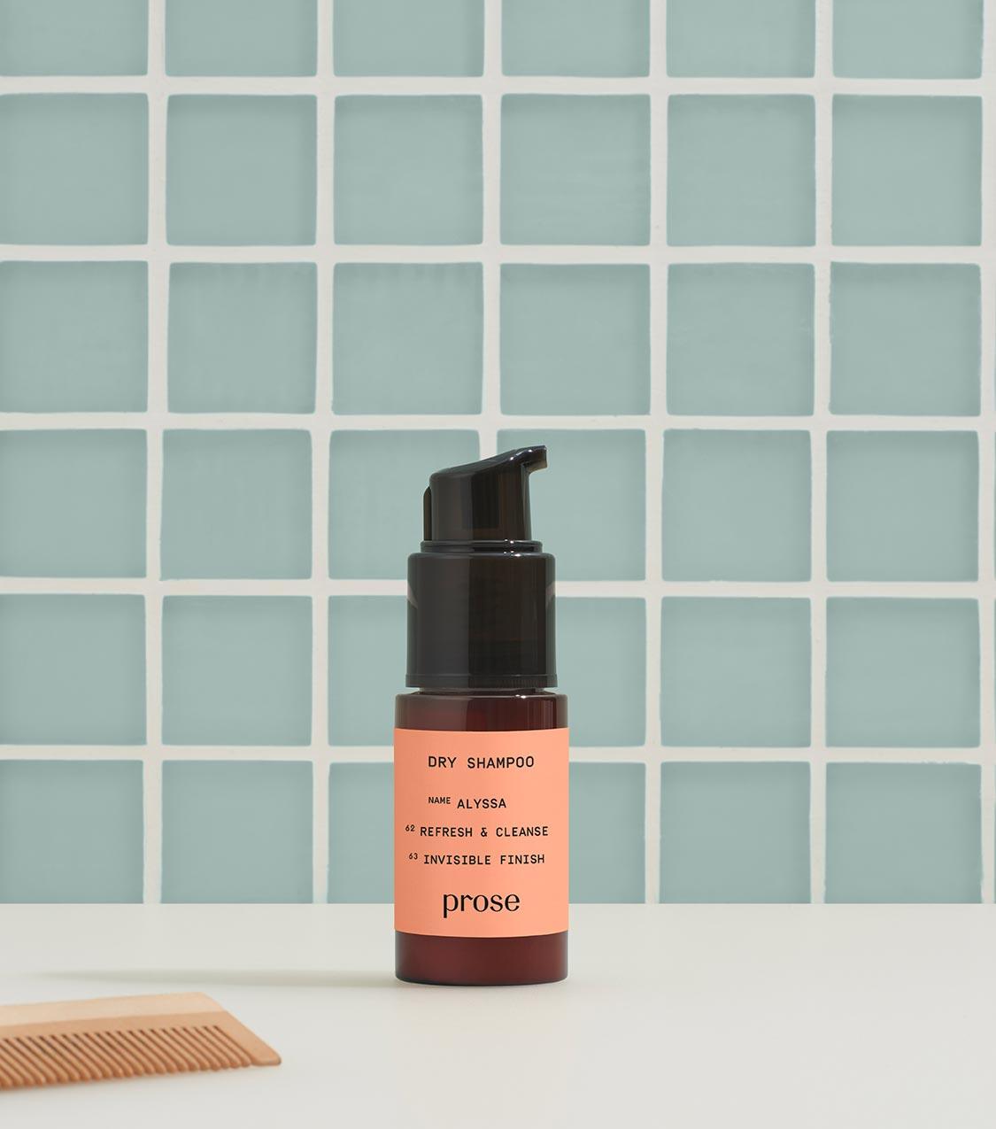 dry shampoo powder prose