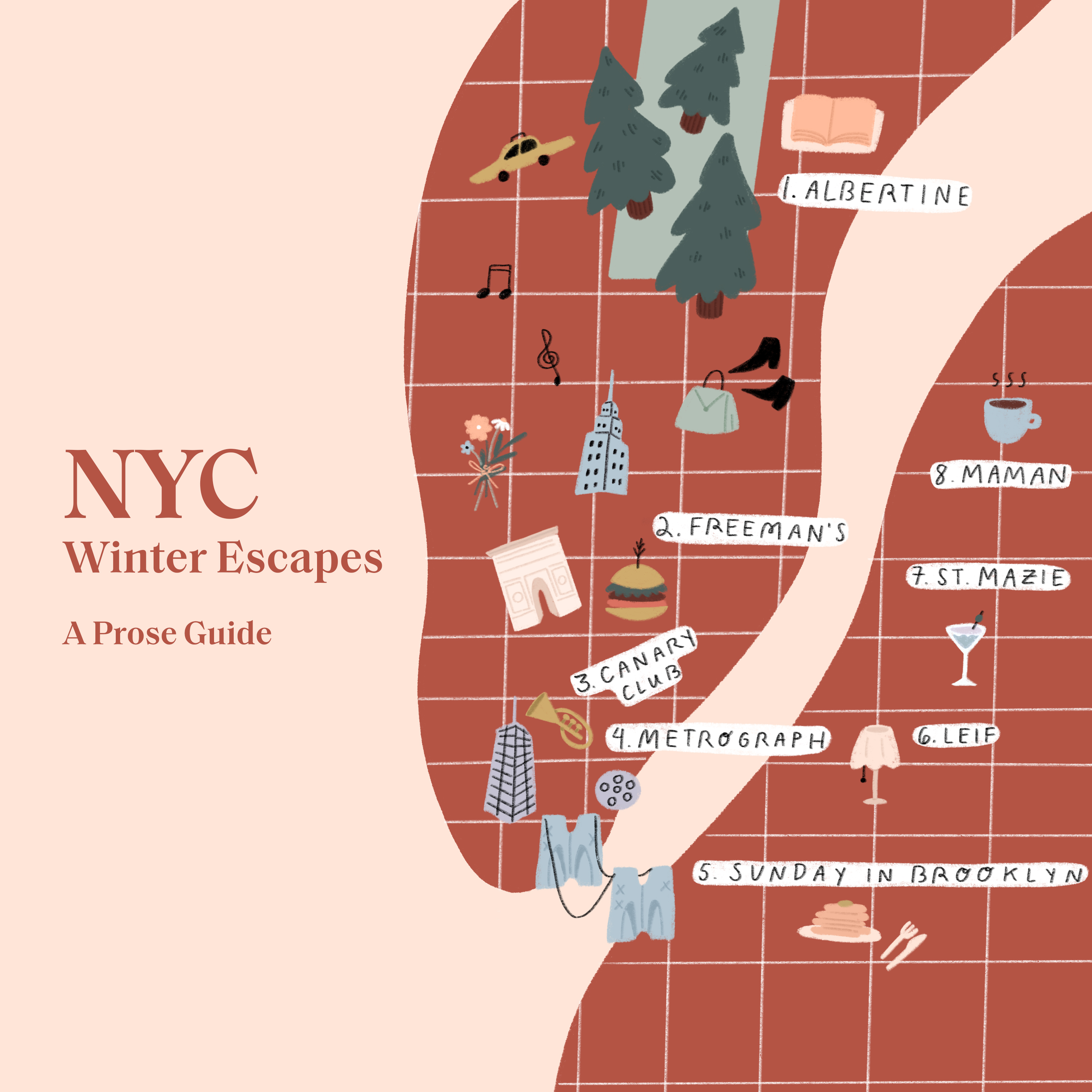 nyc city guide prose