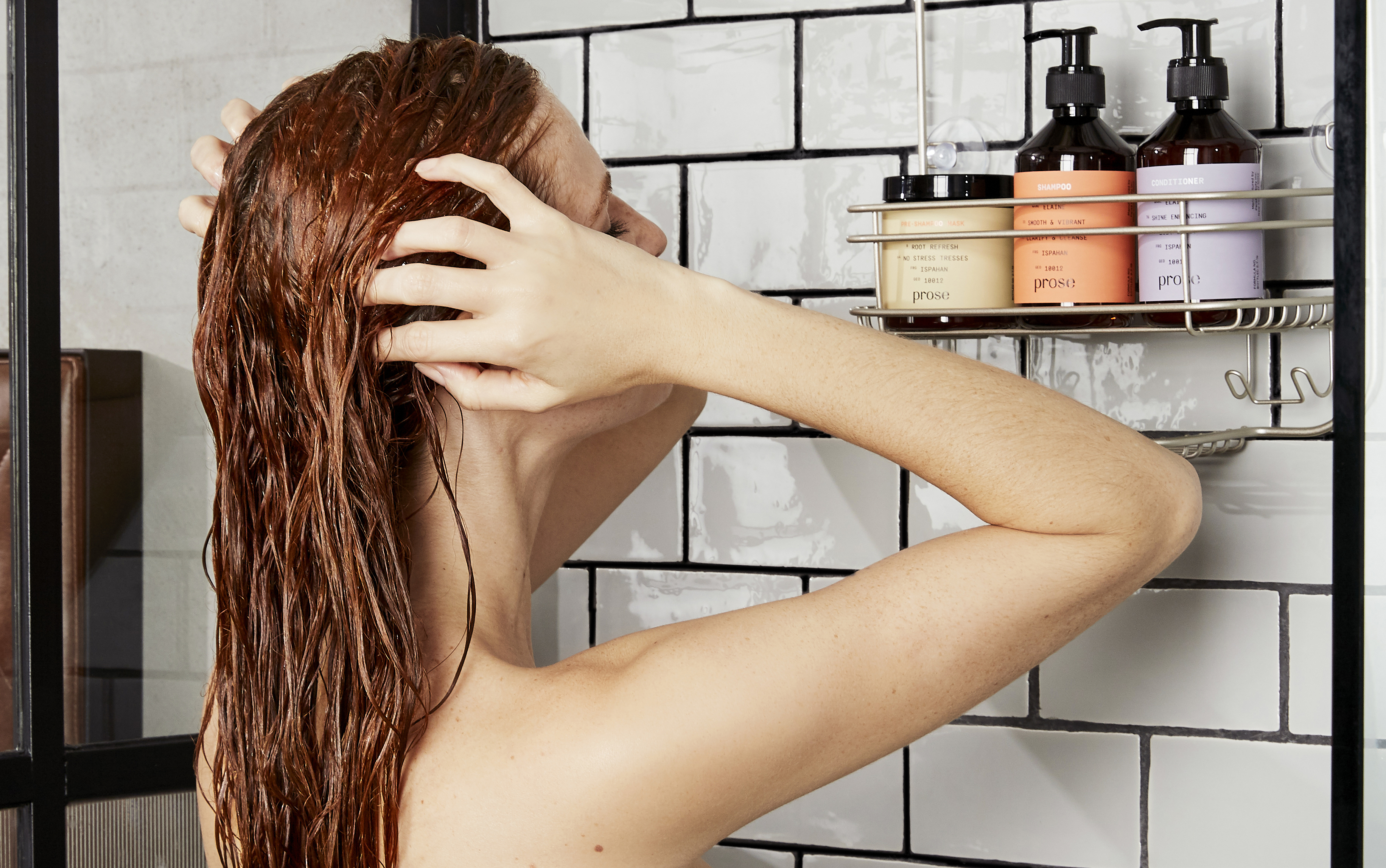 How To Wash Your Hair The Right Way At Length By Prose Hair