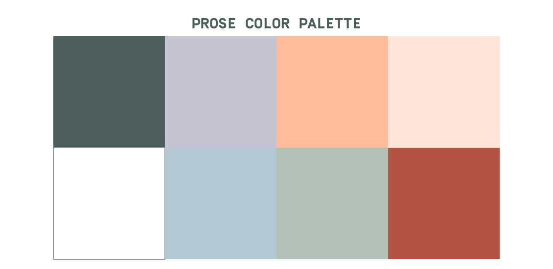 prose color palette