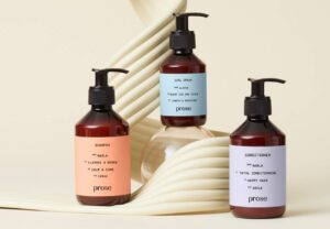 prose hair care packaging