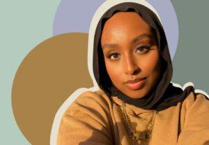 photo of beauty influencer aysha harun