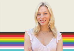 image of activist and model corey rae