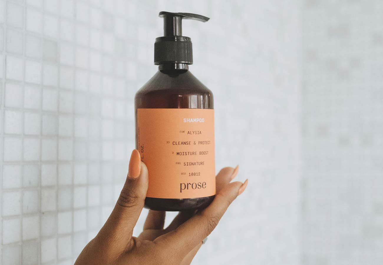 prose fragrance-free shampoo