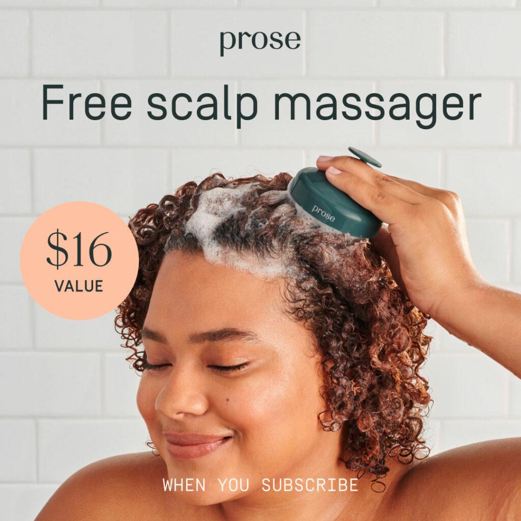 prose scalp massager
