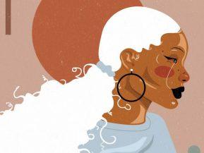 illustration of a Black woman