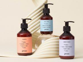prose hair care packaging