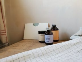prose products and leaflet displayed together
