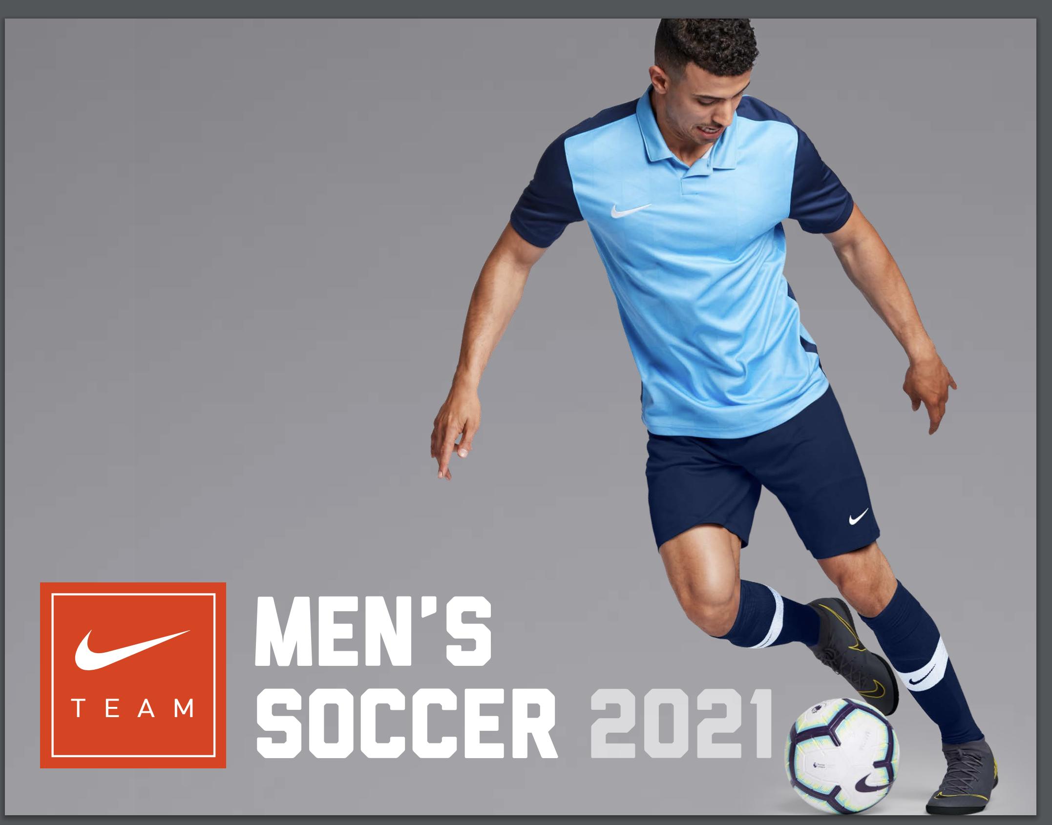 Nike 2021 Men's Catalog