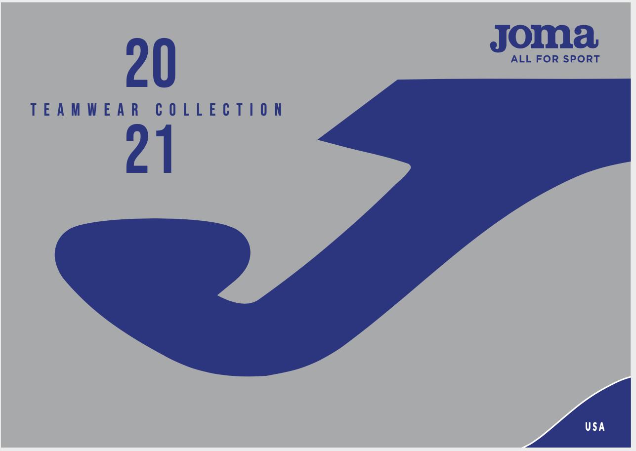 Joma 2021 Catalog