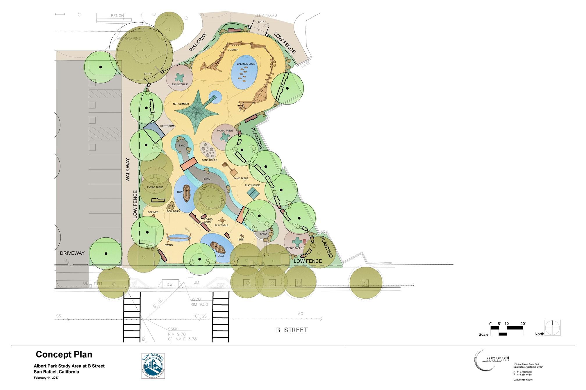 Albert Park Color Plan March 2017