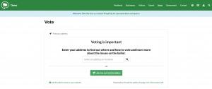 ProudCity Vote