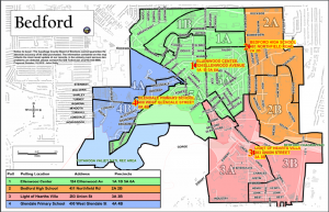City Ward Map