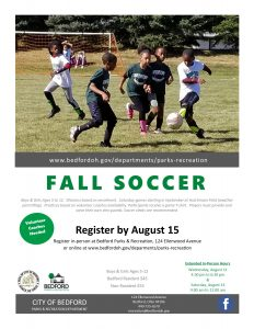 Fall Youth Soccer Flyer 2021