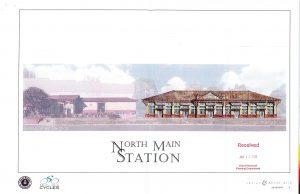 N Main Station Sketch