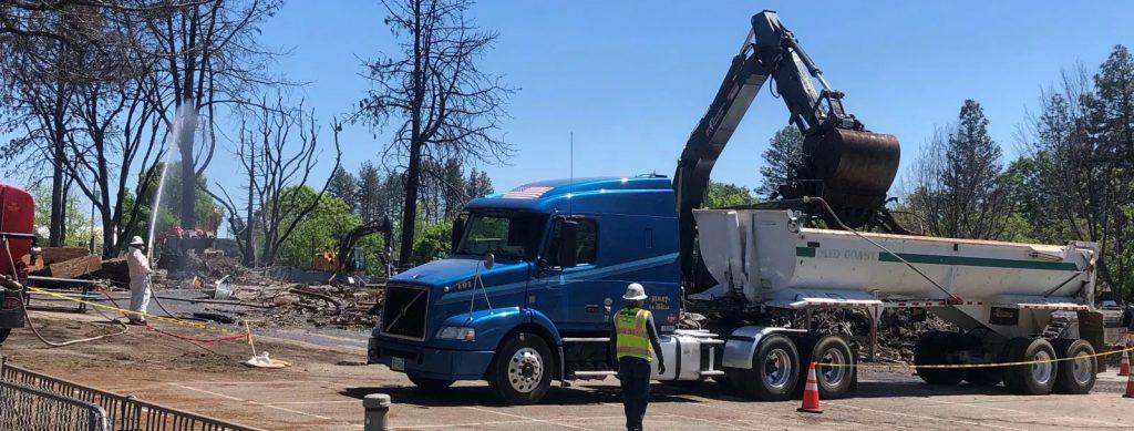 Debris Removal Truck